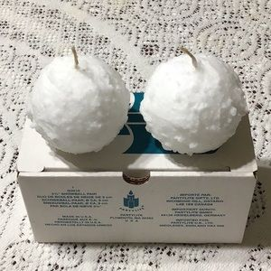 NWOT Ball Candles